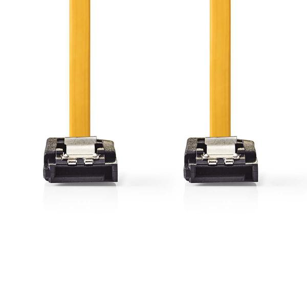 NEDIS  1 mtr SATA 6Gb/S Data Cable SATA 7-Pin Female With Lock - SATA 7-Pin Female With lock - Yellow