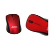 JEDEL W920-RB W920 Wireless 3 Button Mouse with Scroll Wheel 1600dpi 2.4GHz Nano USB Red / Black - BLACK FRIDAY DEAL Image