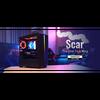 Aerocool  Scar Midi Tower RGB LED Temp Glass Image