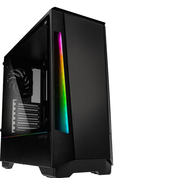Phanteks PH-EC360PTG_DBK01 Eclipse P360X Midi Tower Case - Black - Tempered Glass
