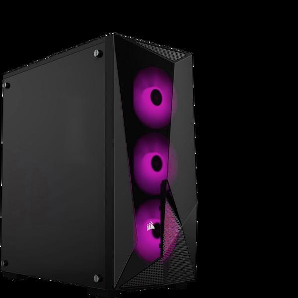 Corsair  Carbide SPEC DELTA RGB Glass Midi PC Gaming Case, Black