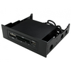 Newlink  Internal 3.5`All In 1 Card Reader USB2 in 5.25 Inch Drive Bay Image