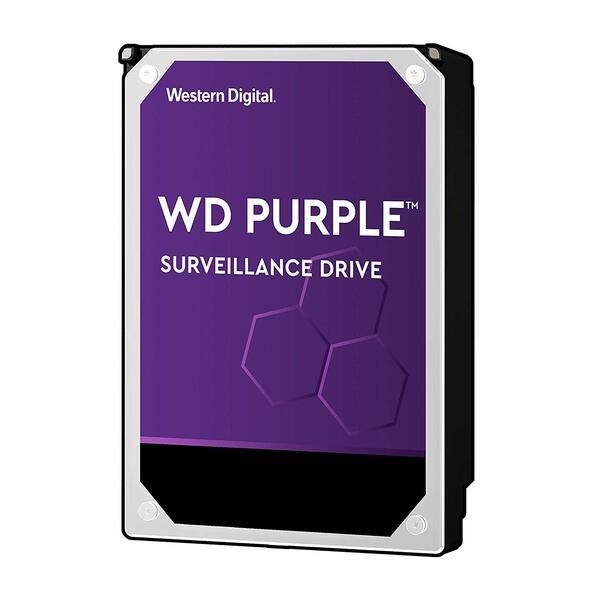 Western Digital  6TB WD Purple Surveillance Storage 3.5 inch SATA Hard Drive