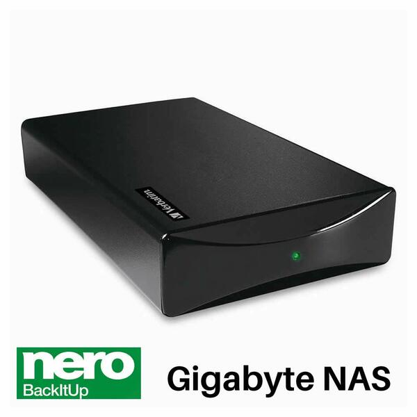 Verbatim  1TB NAS Hard Drive Enclosure Network Attached Storage/Print Server - SPECIAL OFFER