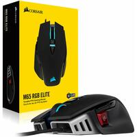 Corsair M65 RGB ELITE Tunable FPS RGB Optical Gaming Mouse, Black, 18000 DPI