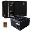 CIT  700W FX Pro 14cm Fan APFC 80plus Bronze PSU - 56 amp Single Rail Image