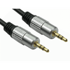 Generic  10M 3.5mm Stereo Cable - Gold Connectors - Jack male to Jack male Image