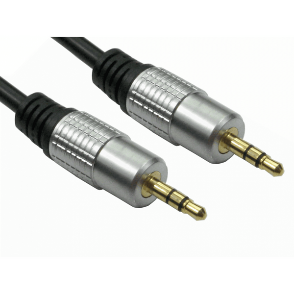 Generic  10M 3.5mm Stereo Cable - Gold Connectors - Jack male to Jack male