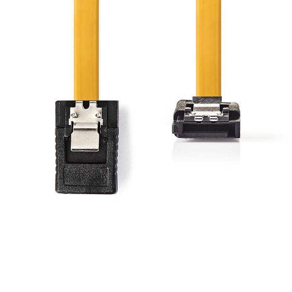 NEDIS  SATA 6Gb/s Data Cable | SATA 7-pin Female with Lock - SATA 7-pin Female 90° Angle