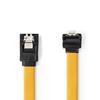 NEDIS  SATA 6Gb/s Data Cable | SATA 7-pin Female with Lock - SATA 7-pin Female 90° Angle Image
