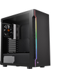 Thermaltake CA-1M3-00M1WN-00 H200 Midi Chassis, Tempered Glass, RGB, 120mm Fan, USB 3.0 Image