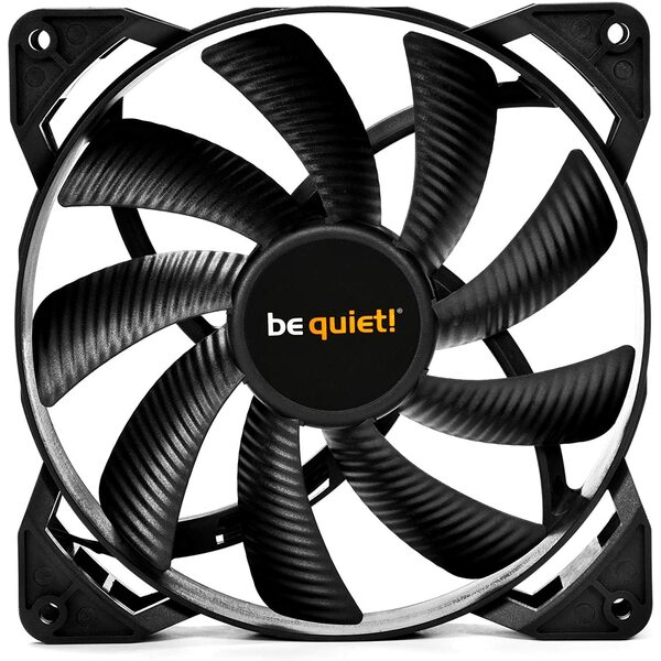 Be Quiet  Pure Wings 2 PWM High Speed Case Fan, 12cm, Rifle Bearing