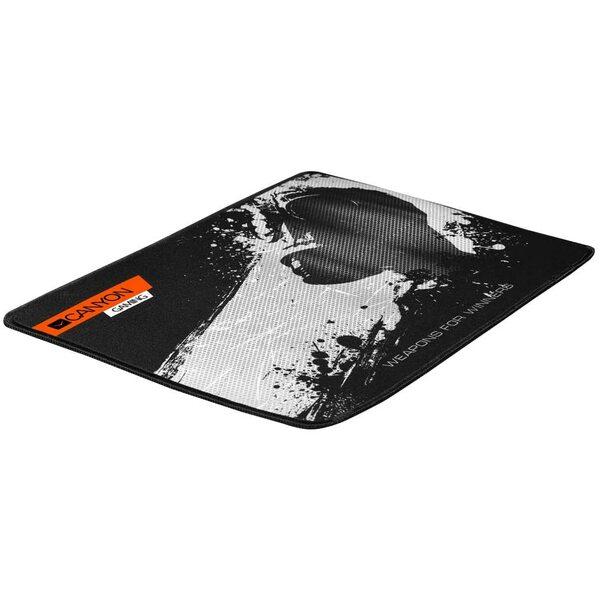 Canyon  Gaming Mouse Mat, Anti-Fraying Cloth, Textured, 350X250mm, Non-Slip Bottom