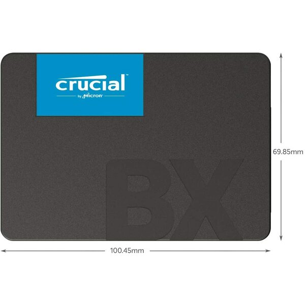 Crucial  2 TB Internal SSD (3D NAND, SATA, 2.5 Inch)