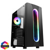 CIT Sauron Gaming Case ARGB Front Strip 1x ARGB Fan TG Side Panel EPE Image