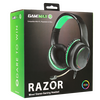 GameMax  Razor RGB Gaming Headset and Mic with 5.1 Surround Sound 3.5MM JACK + USB for RGB Lights Image