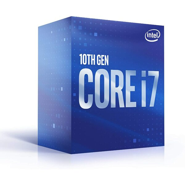 Intel  Intel Core I7-10700 CPU, 1200, 2.9 GHz (4.8Ghz Max Turbo), 8-Core, 65W, 14nm, 16M Cache, Retail Box With Cooler
