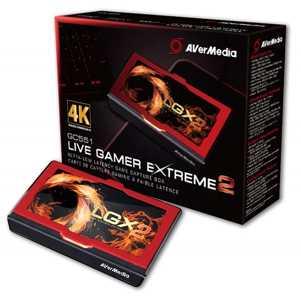 Avermedia  GC551 Live Gamer EXTREME 2 External HDMI Capture Card