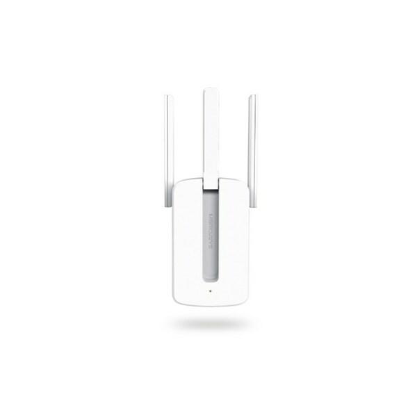 Mercusys  300Mbps Wall-Plug Wifi Range Extender, 3 MIMO Tech Antennas