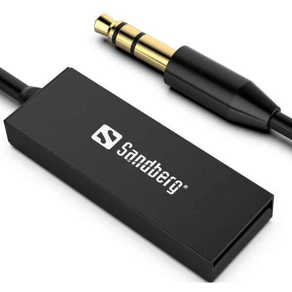 Sandberg  Bluetooth 5.0 Audio Link through 3.5 mm Jack, USB Powered