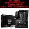 MSI (B550-A PRO) MAG B550-A PRO AMD Socket AM4 ATX Motherboard Image