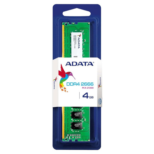 Adata  4GB (1x4GB) Single Channel (DDR4 2666/19.0/1.2v)