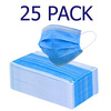 Generic PPE25PMV 25 Pack 3 ply Face Mask - CE Approved - BLACK FRIDAY DEAL Image