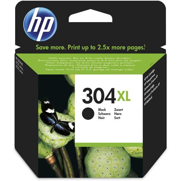 HP  HP 304 XL - Print Cartridge - 1 x Black - 300 Page Yeild Average