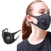 PlAAT Dustproof Mouth Mask Sponge Mask with Breathing Valve Washable Reusable Masks Anti-fog Face Mouth Cover Image