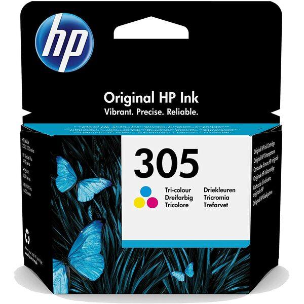HP 3YM60AE HP 305 - Print Cartridge - 1 X Tri Colour - 100 Page Yeild - Special Offer