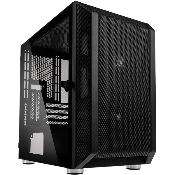 Kolink  Citadel Micro ATX Gaming Case - Black Mesh Front with Tempered Glass Side Window