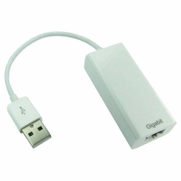 Generic  USB2 Extender to Rj45 Ethernet Cable Adaptor - Gigabit