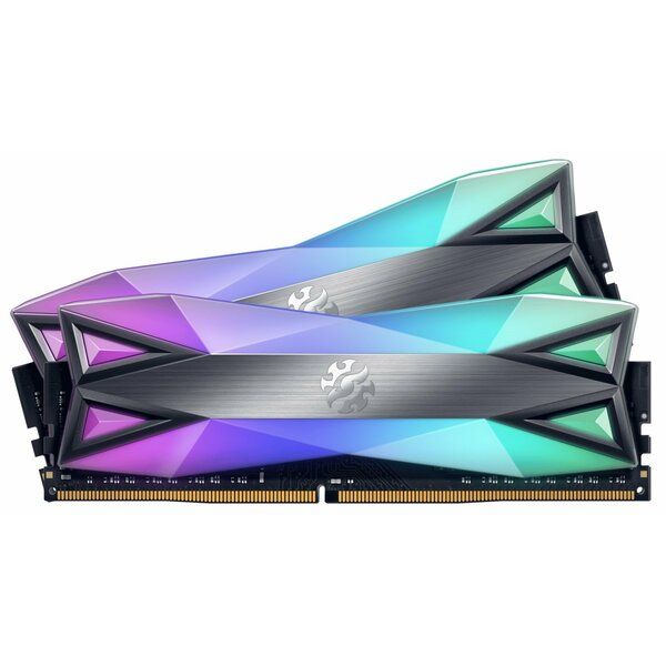 XPG AX4U360038G18-DT60 XPG Spectrix D60G RGB 16GB (2 x 8GB), DDR4, 3600MHz (PC4-28800) CL18, XMP - Special Offer