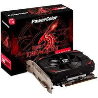 Power Colour  Red Dragon Radeon RX 550 4GB GDDR5 - Maximum 1 per customer / household