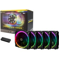 ANTEC PRIZM120 ARGB 5+C 120 ARGB 5+C 120Mm Case Fan W/Fan Controller (5 In 1 Pack)