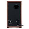 Genius  Wooden Hi-Fi Stereo Speakers Image
