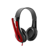Canyon CNS-CHSC1BR Simple PC headset HSC-1 Black / Red 3.5mm Jack x 1 - BLACK FRIDAY DEAL Image