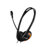 Canyon CA-CNS-CH01BO Stylish And Comfy Headset HS-01 - Black / Orange 2x 3.5mm Jack - BLACK FRIDAY DEAL Image