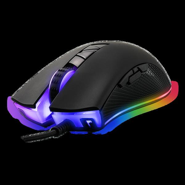 Tecware  Torque Plus - RGB Gaming Mouse (Matt Black)