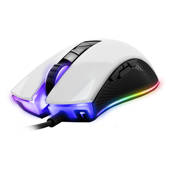 Tecware  Torque Plus - RGB Gaming Mouse (Gloss White)