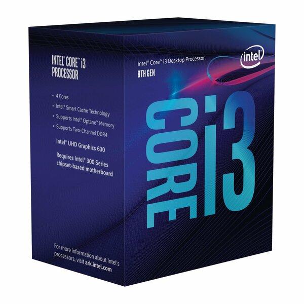 Intel BX80684I39100 Intel Core I3 9100 Coffee Lake Desktop Processor/CPU / UHD 630 Grapphics