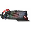 JEDEL CP-04 Knights Templar 4-in-1 Gaming Starter Kit - RGB Keyboard + Mouse with Headset + XL Mouse Matt - Special Offer Image
