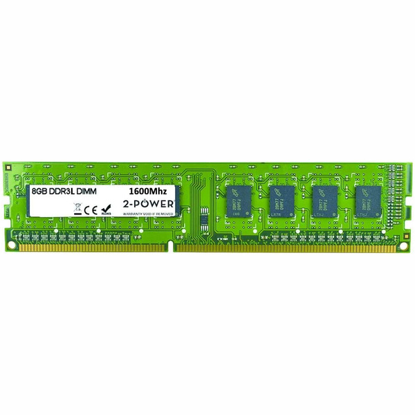 2 Power  8Gb DDR3L 1.35v Memory Module 1600 Mhz Desktop memory