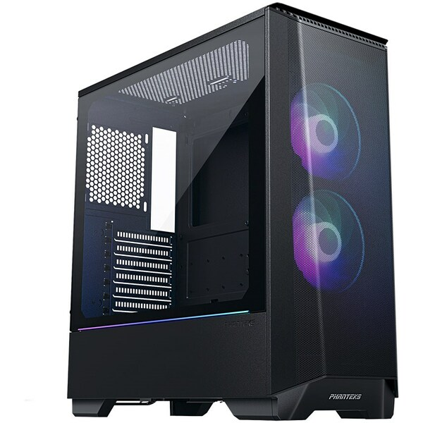 Phanteks  Eclipse P360A AIR DRGB Gaming Case - Black With Tempered Glass Window