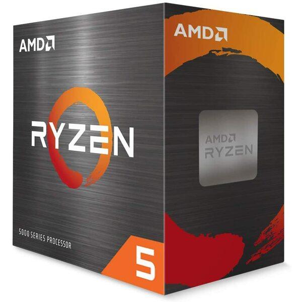 AMD 100-100000065BOX Ryzen 5 5600X Processor 6 Core / 12 Thread, 35MB Cache, 3.7 / 4.6 GHz Max Boost *** Maximum one Per Customer ***