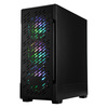 CIT  CiT Crossfire Gaming Case 4x ARGB Fans TG Side Panel Image