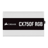 Corsair  750 Watt CX750F RGB Fully Modular White PSU/Power Supply - BLACK FRIDAY DEAL Image