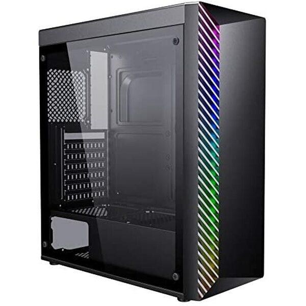 AVP K-181 Kolus RGB Gaming Case - Black