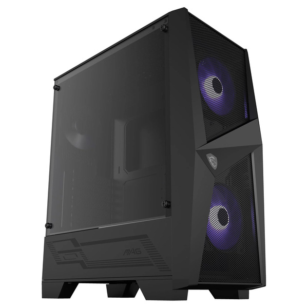 MSI  MAG FORGE R ATX Tempered Glass ARGB PC Gaming Case With Hub