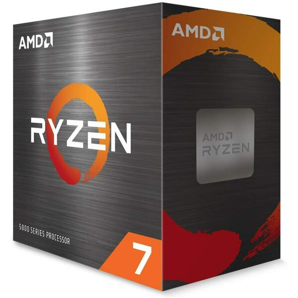 AMD 100-100000063WOF Ryzen 7 5800X Processor 8 Core 16 Thread 3.80GHz / 4.7Ghz Boost  36MB Cache 105W Retail Boxed  - *** Maximum one Per Customer ***